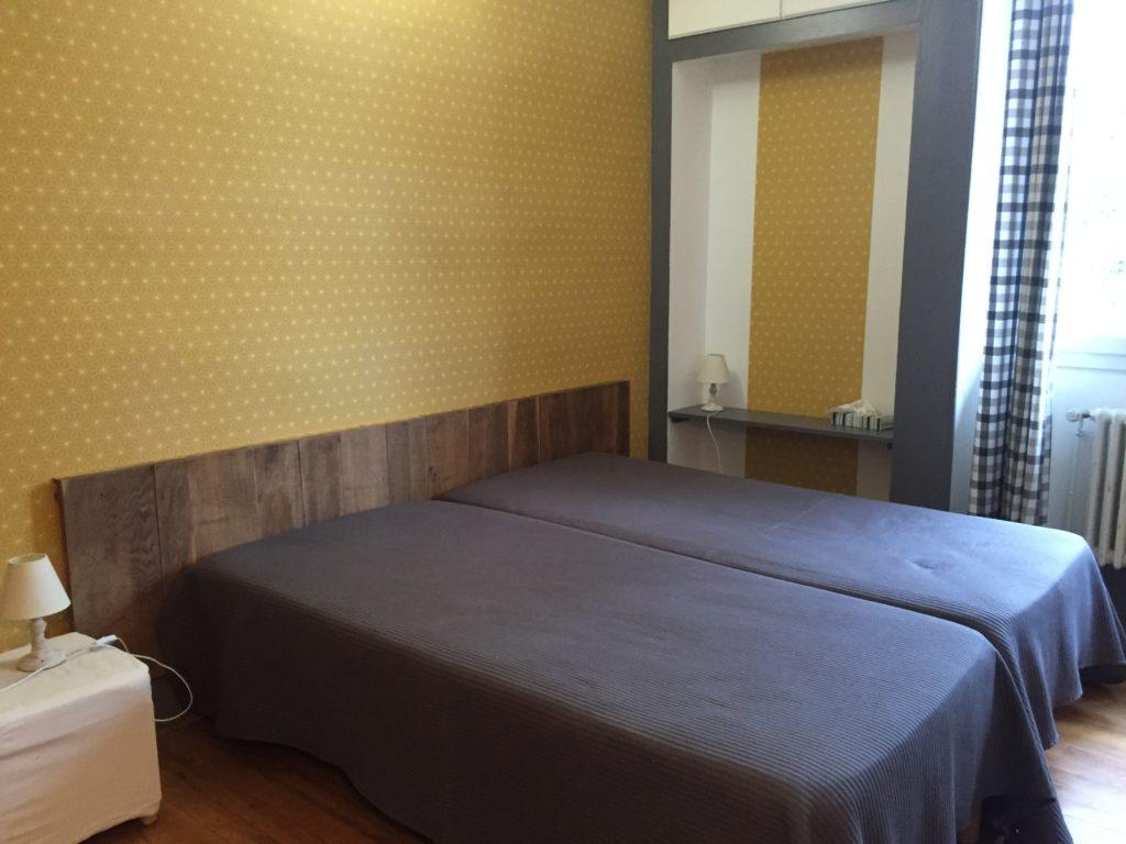 chambre LE GOUR BLEU (2 lits de 90)